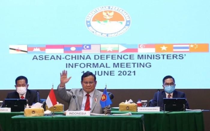 Prabowo Hadiri ASEAN-China Defence Ministers Informal Meeting