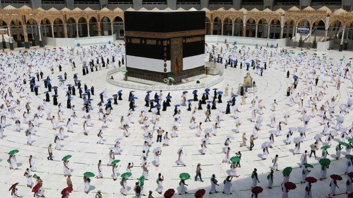 Masuk Kota Mekah, Jamaah Haji Mulai Tawaf Qudum