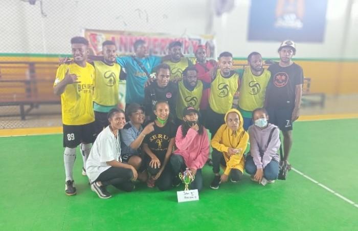 Mahasiswa Papua Makassar Gelar Turnamen Futsal Antar Asrama Di Makassar