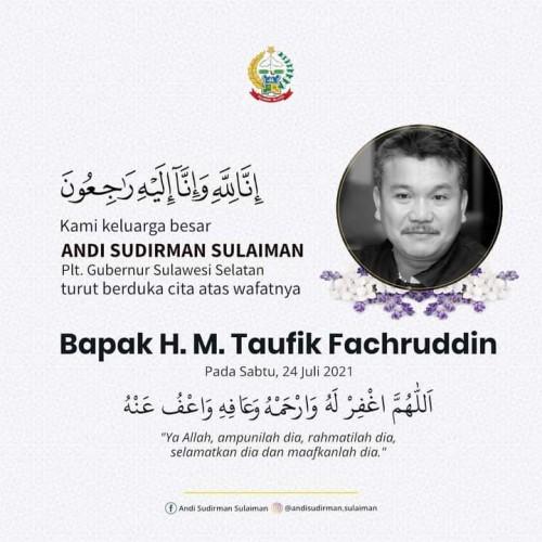 In Memoriam H.Taufik Fachruddin