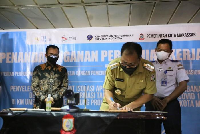 Ini Bukti Nyata Pemkot Makassar Serius Tanggulangi Wabah Covid-19